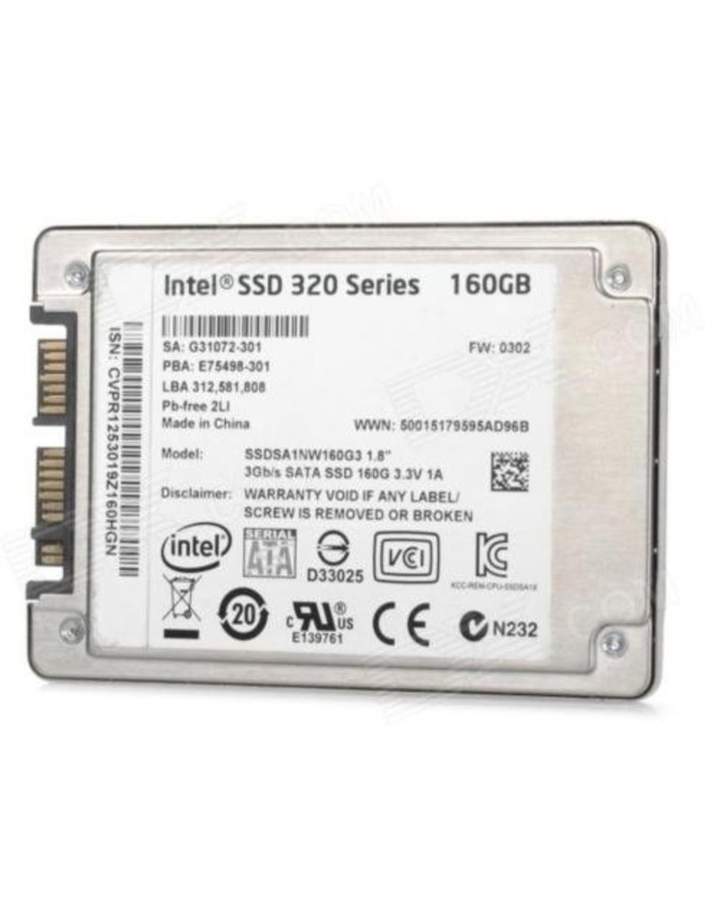 INTEL 320/520 160GB SSD SCHIJF