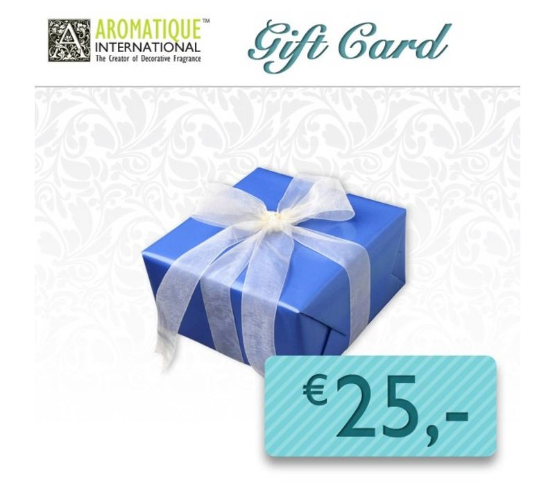 Gift Card for € 25,00