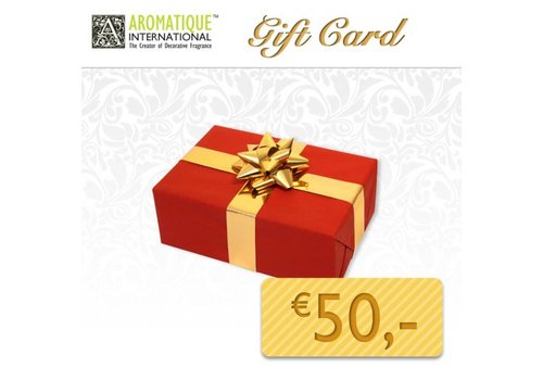Gift Card for € 50,00