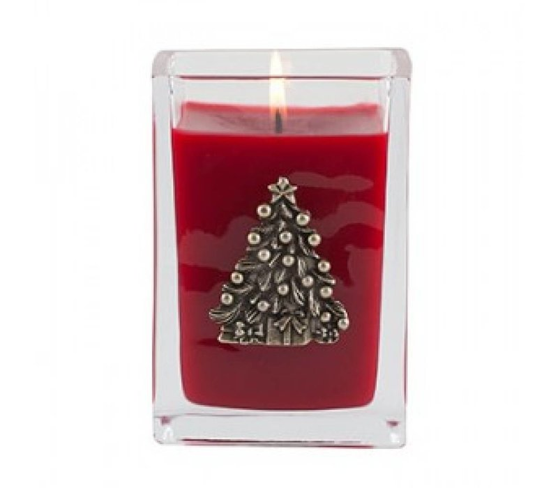 Smell of Christmas Cube Candle, medium