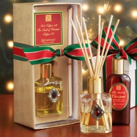 The Smell of Christmas® Reed Diffuser Set with Red Jewel