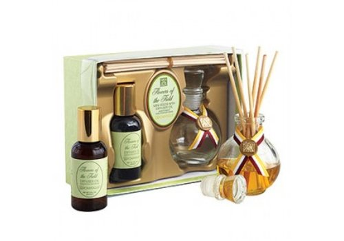 Flowers of the Field Mini Reed Diffuser Set