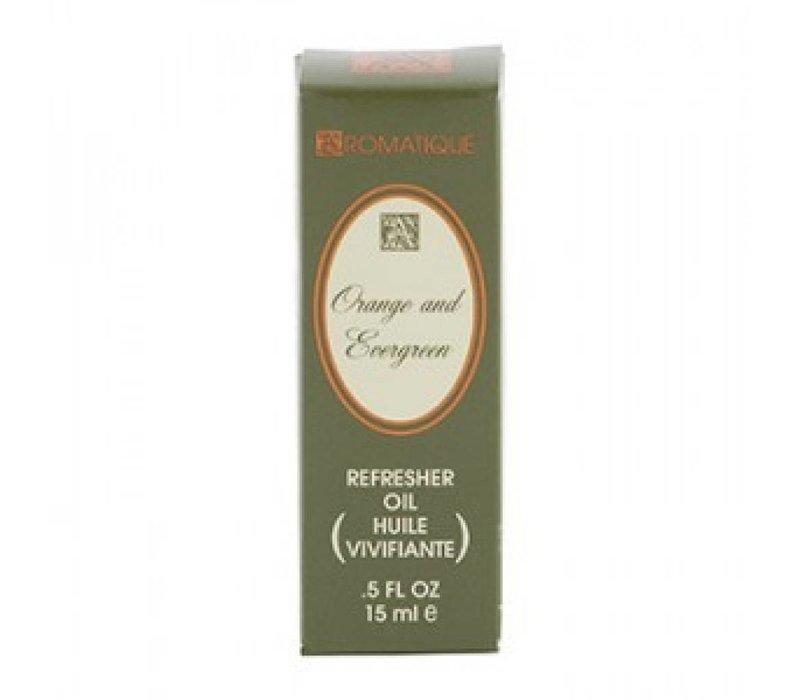 Orange & Evergreen Refresher Oil