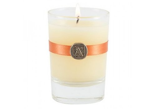 Orange & Evergreen Votive Candle