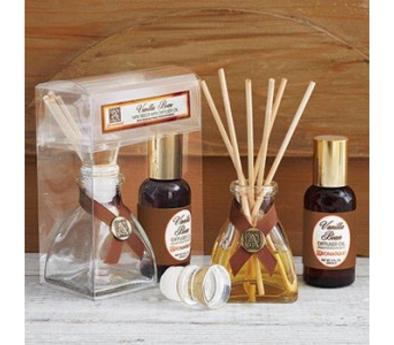 Vanilla Bean Mini Reed Diffuser Set