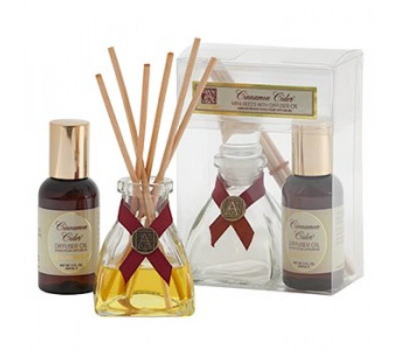 Cinnamon Cider® Mini Reed Diffuser Set