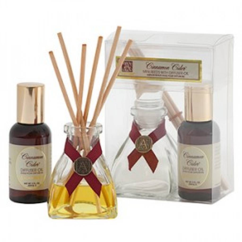 Cinnamon Cider 174 Mini Reed Diffuser Set Aromatique