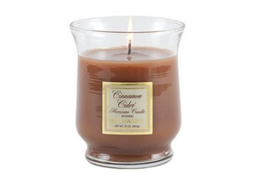 Cinnamon Cider® Hurricane Candle, Small