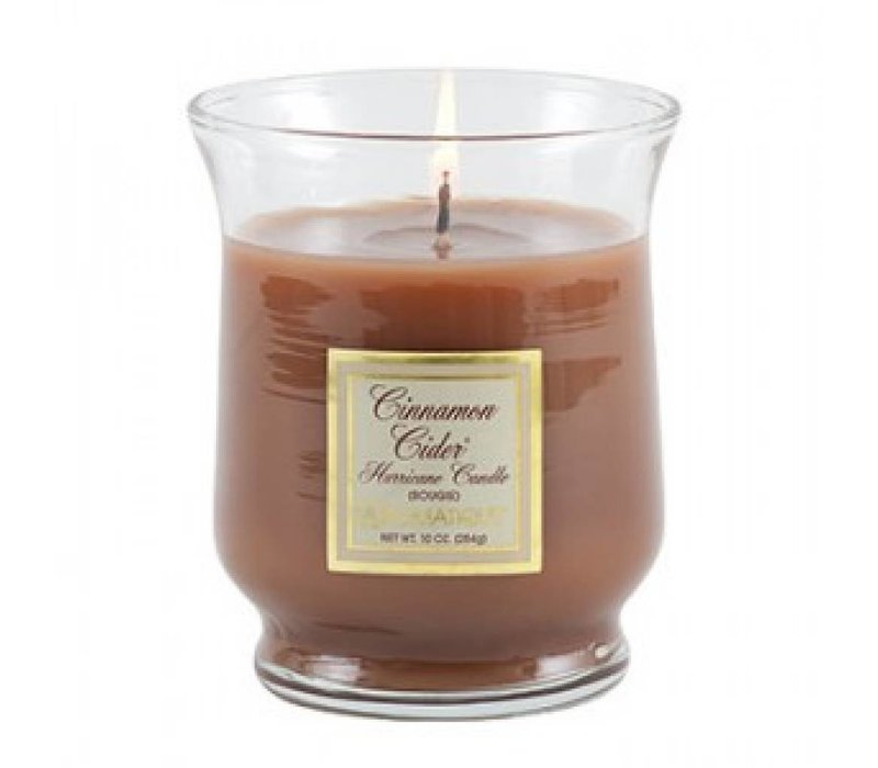 Cinnamon Cider® Hurricane Candle, Small