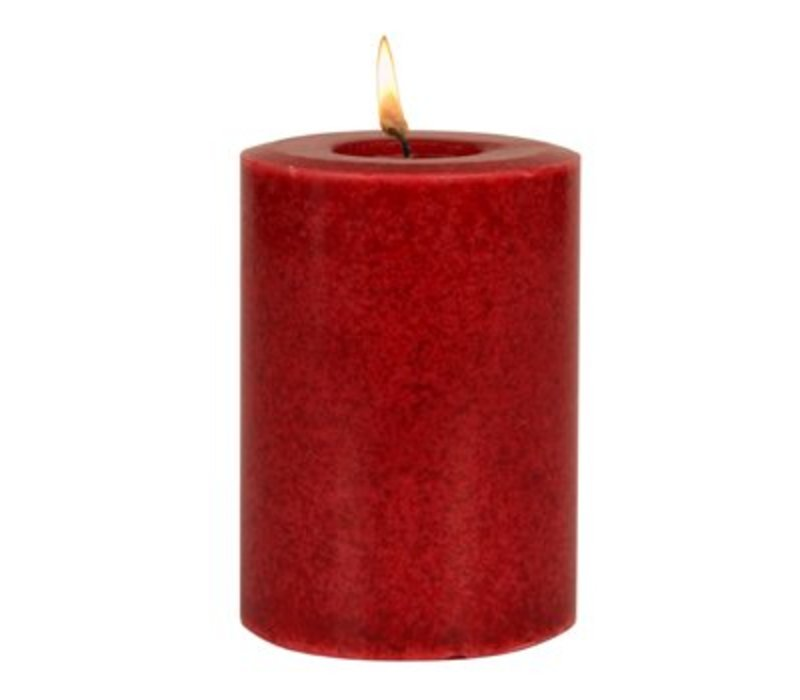 The Smell of Christmas® Mottled Pillar Candle
