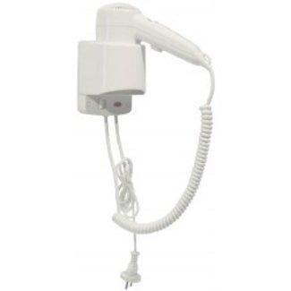 Mediclinics Haardroger ABS met hoofdschakelaar en snoer wit
