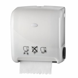 Euro Products Pearl White Handdoekautomaat Autocut Euro Matic