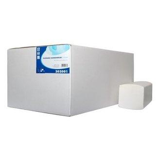 Handdoekpapier Z-Vouw Flushable 2 lgs 16x199 stuks