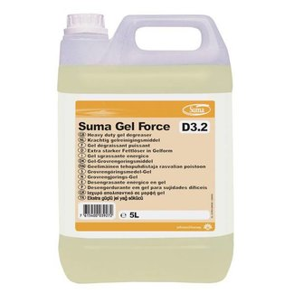 Diversey Suma Gel Force D3.2. 2 x 5 ltr