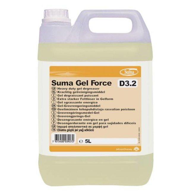 Diversey Suma Gel Force D3.2. 2 x 5 ltr