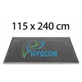 HYSCON Logo Schoonloopmat 115 x 240 cm