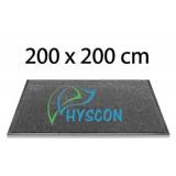 HYSCON Logo Schoonloopmat 200 x 200 cm