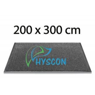 HYSCON Logo Schoonloopmat 200 x 300 cm