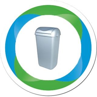 Kunststof afvalbakken