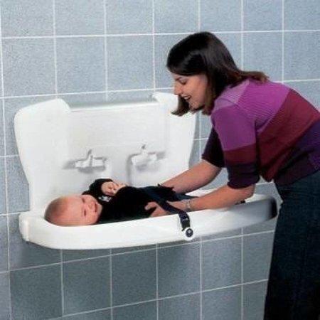 Vectair Babyverschoontafel Kunststof Design Horizontaal - WIT