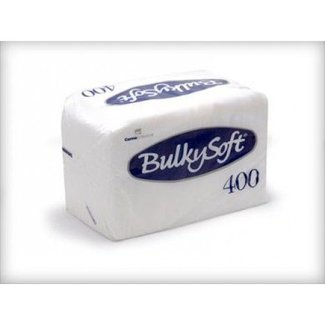 Bulky Soft Servetten 1 Laags 27 x 30 - 1/4 Vouw