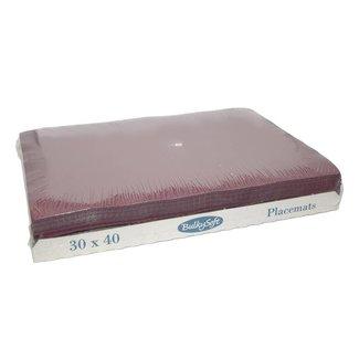 Bulky Soft Placemats 30 x 40 - Bordeaux
