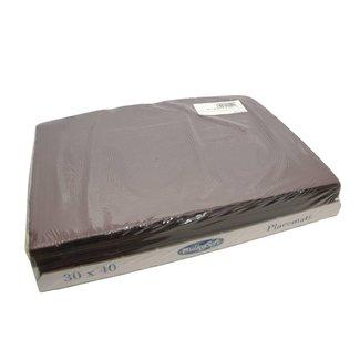 Bulky Soft Placemats 35 x 50 - Zwart