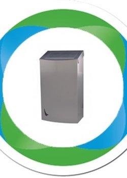 RVS afvalbakken