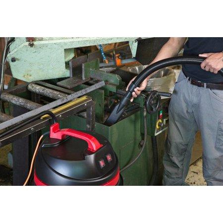 Nilfisk-Viper Stof-/waterzuiger 35 liter, 1000 Watt - 1 motorig, 7 meter electriciteitssnoer oranje, kunststof container