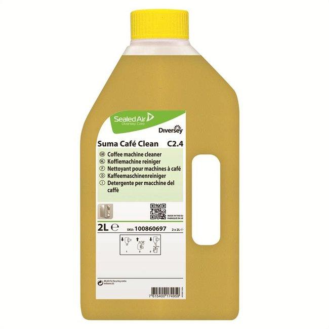Diversey Suma Café Clean C2.4 - 2 x 2 ltr
