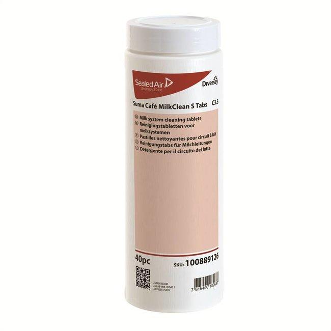 Diversey Suma Café Milkclean Tab S C3.5 - 2 x 40 stuks