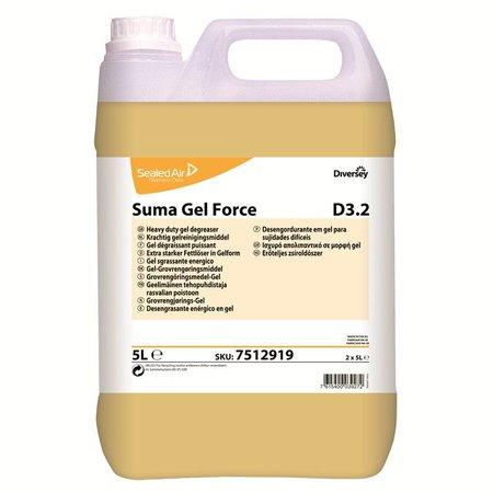 Diversey Suma Gel Force D3.2 Can - 2 x 5 ltr