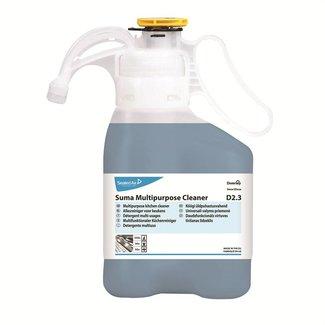 Diversey Suma Multipurpose Cleaner D2.3 SmartDose - 2 x 1,4 ltr