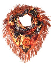 Loved by Blanche Fleur Foulard - Brown