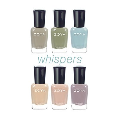 Zoya Whisper Set