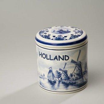 Stroopwafelpot aardewerk Holland