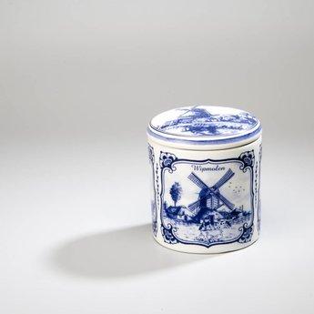 Stroopwafelpot aardewerk - Molens