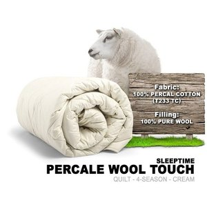 Percal Wool Touch Quilts Single