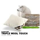 Triple Wool Touch Pillow
