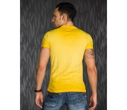 Casual T-shirt met Mooie Kleurverloop Senf