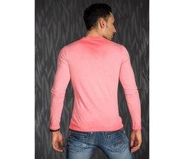 Casual Shirt met Lange Mouwen Coral