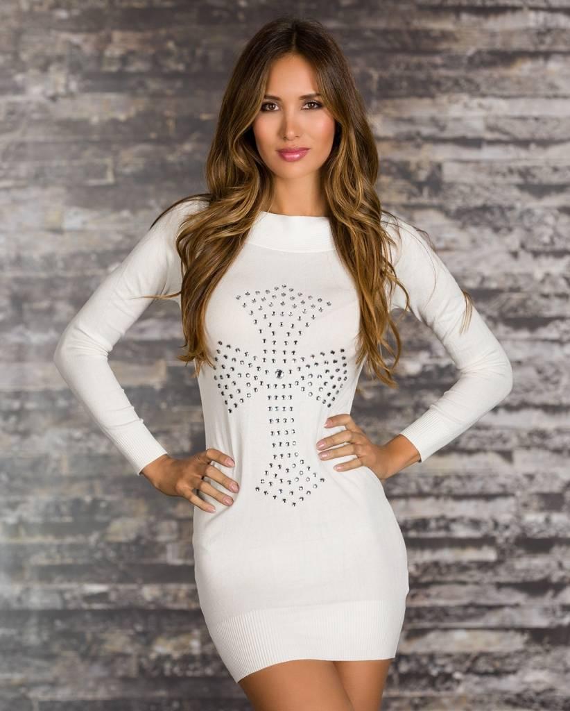 Lange jurk trui