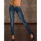 Trendy Jeans met Bloemenprint