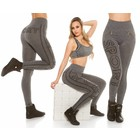 Trendy Workout Legging Zwart