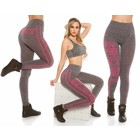 Trendy Workout Legging Fuchsia