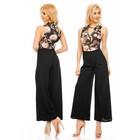 Lange Fashion Jumpsuit Zwart