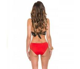 Sexy Neckholder Monokini in Pin-Up-Look