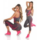 2-Delige Gym Legging Set Pink