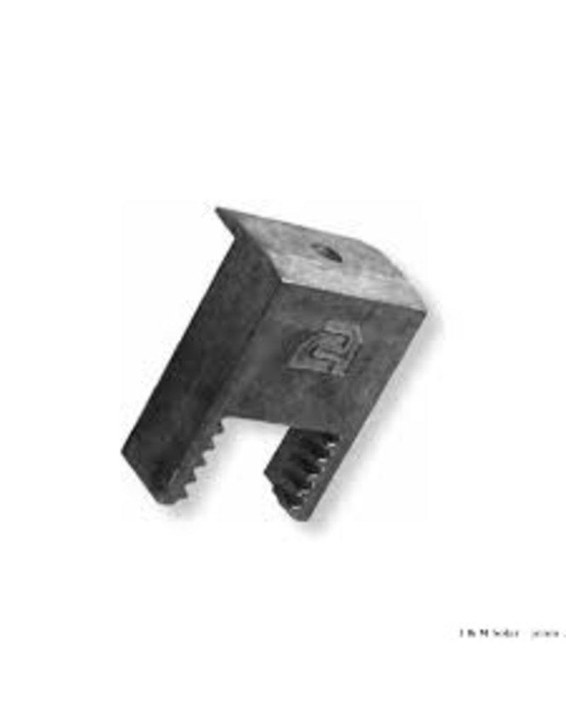 Clickfit Clickfit eindklem CFB aluminium