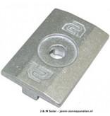 Clickfit Clickfit Module klemplaat aluminium